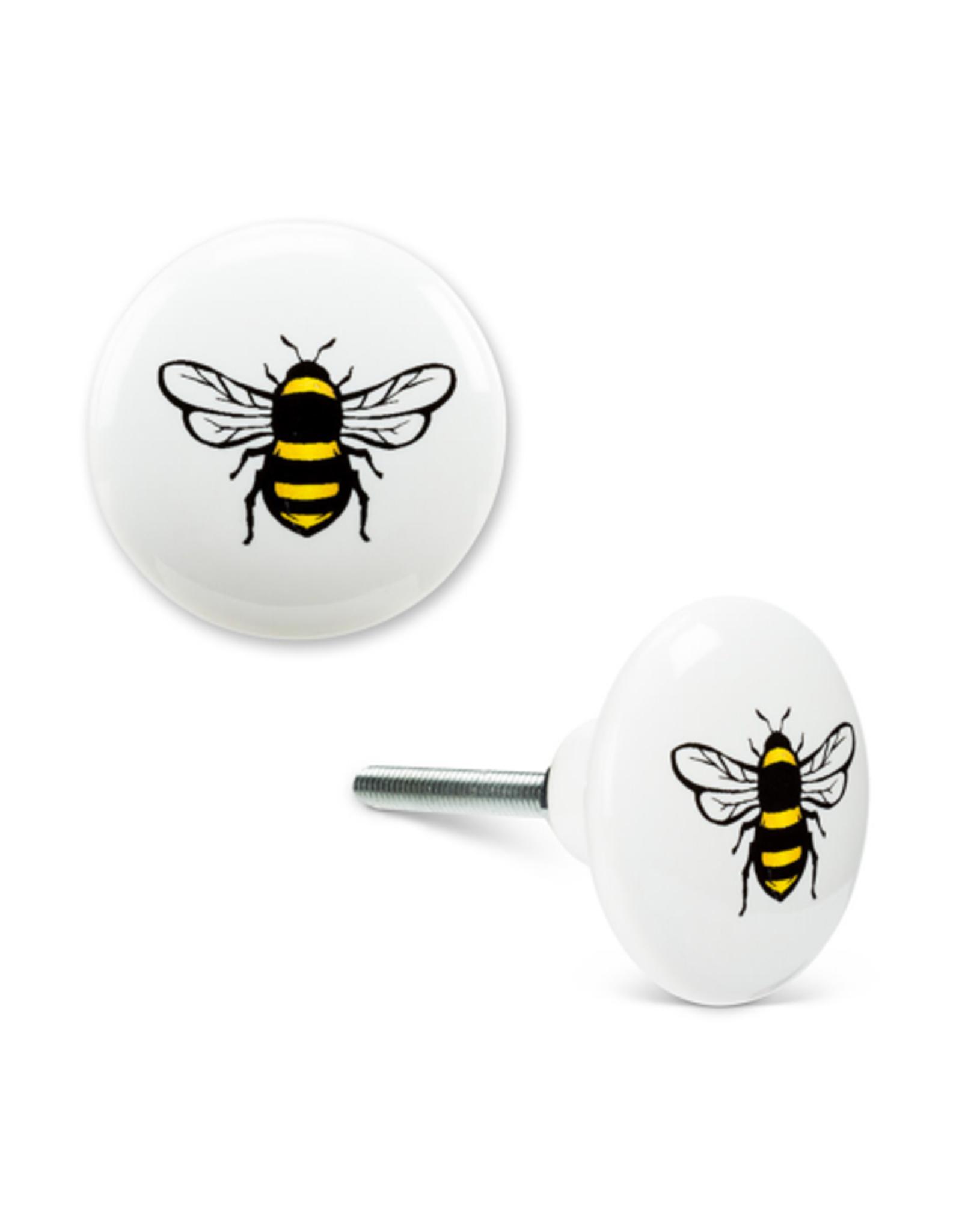 ATT - Knob/Yellow Bee, Ceramic