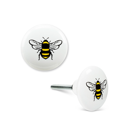 ATT - Knob/Yellow Bee, Ceramic