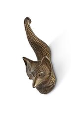 """ATT - Fox Small Hook or Knob/Brass, 2.5"""""""