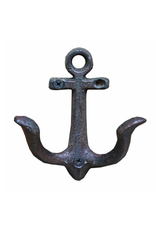 """NTH - Double Wall Hook/Anchor, Cast Iron, 4.25"""""""