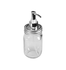 CTG - Soap Dispenser/Mason Jar, Clear