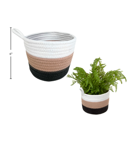 CTG - Tricolour Basket with Loop