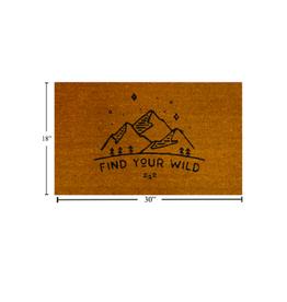 CTG - Doormat/Find Your Wild