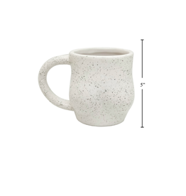 CTG - Mug/Beauty, Speckled White, 10oz