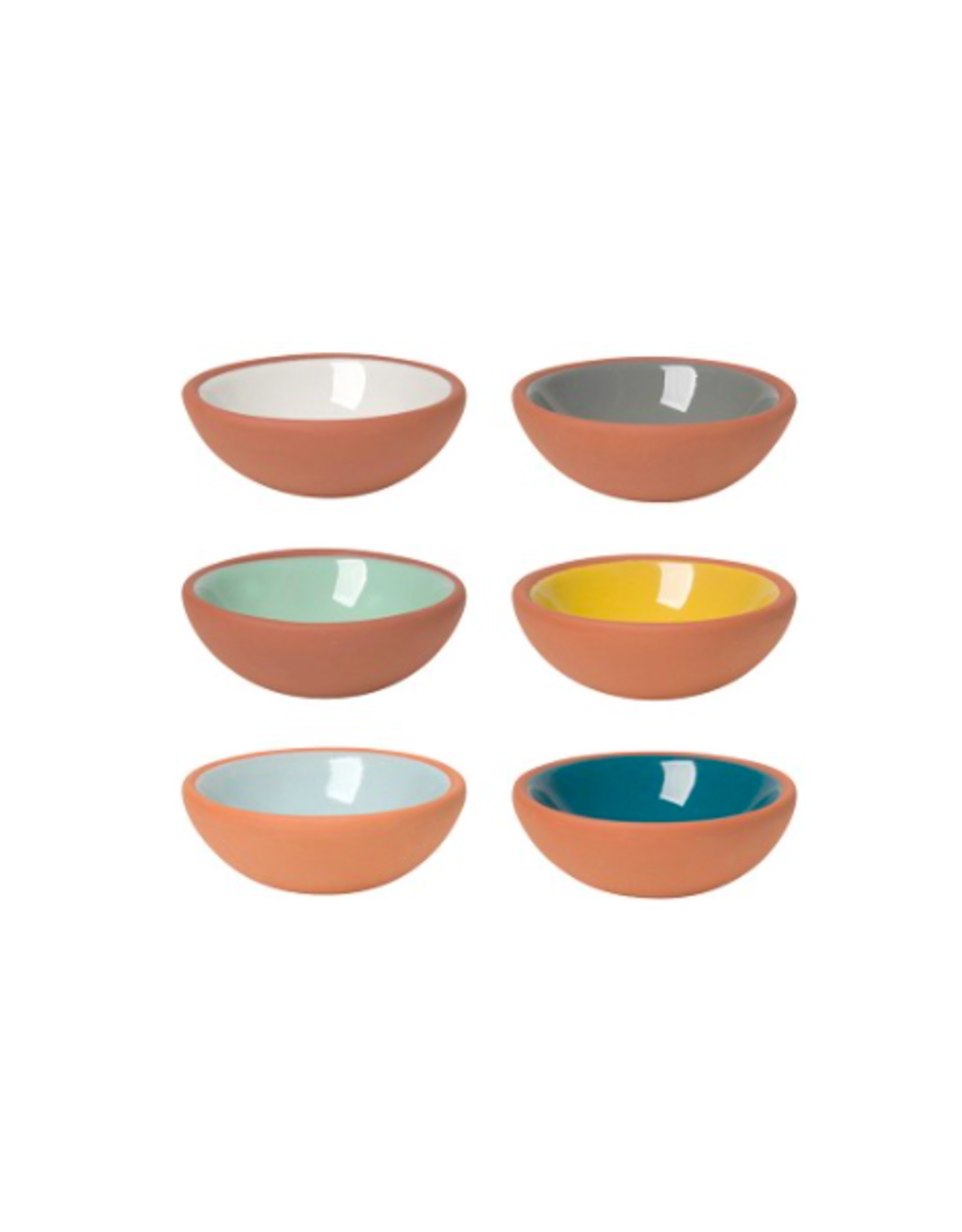 DCA - Pinch Bowls/Set 6, Terracotta, Weather