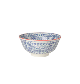 DCA - Bowl/Criss Cross, Blue, 6""