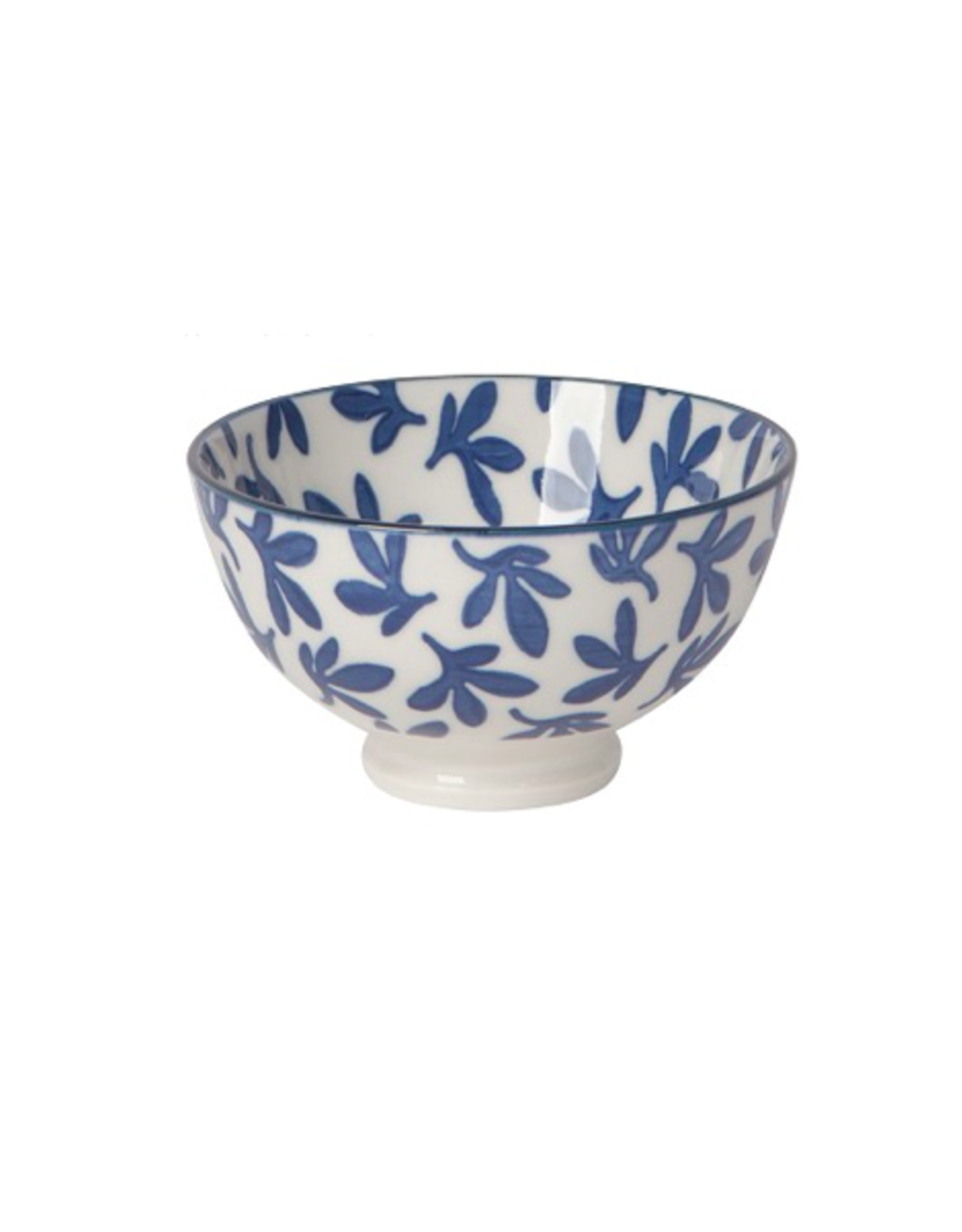 """DCA - Bowl/Blue Flower, 4"""""""