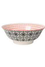 DCA - Bowl/Black & Red, 8""