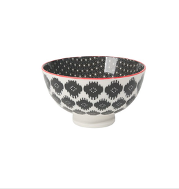 DCA - Bowl/Black Stars, 4""