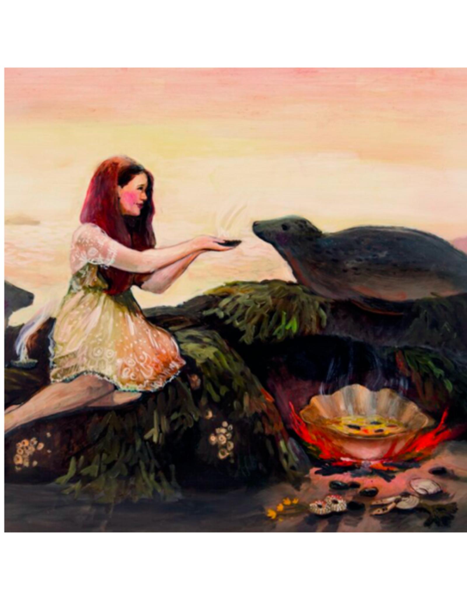 "Briana Corr Scott - Card / Selkie's Feast, 4 x 6"""