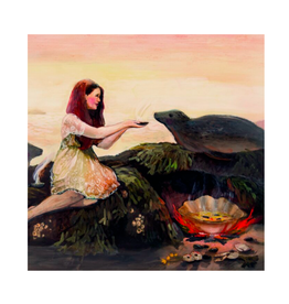 "Briana Corr Scott - Card/Selkie's Feast, 4 x 6"""