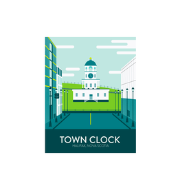 Hannah Emmett - Card/Town Clock