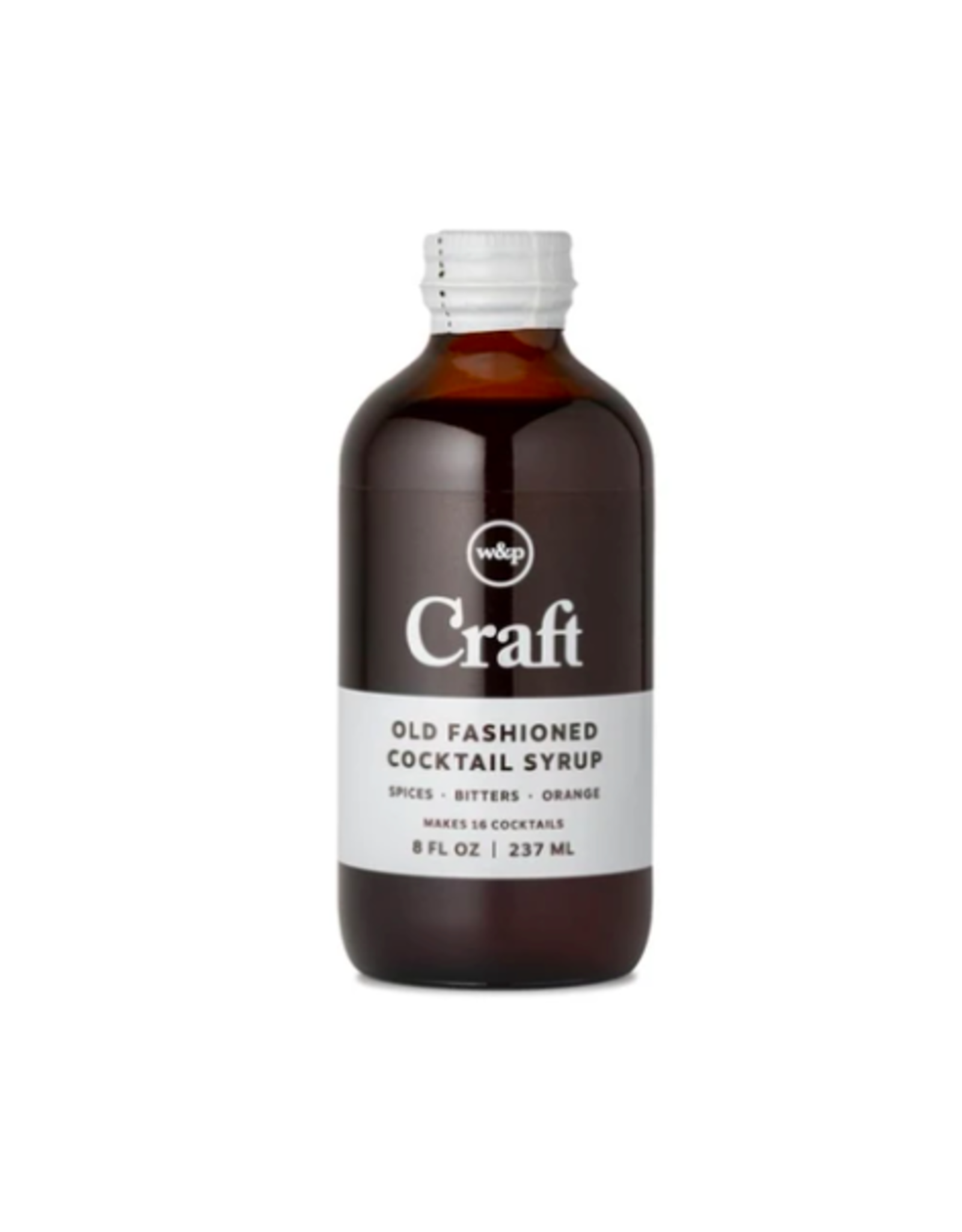W&P - Cocktail Syrup / Old Fashioned, 8oz