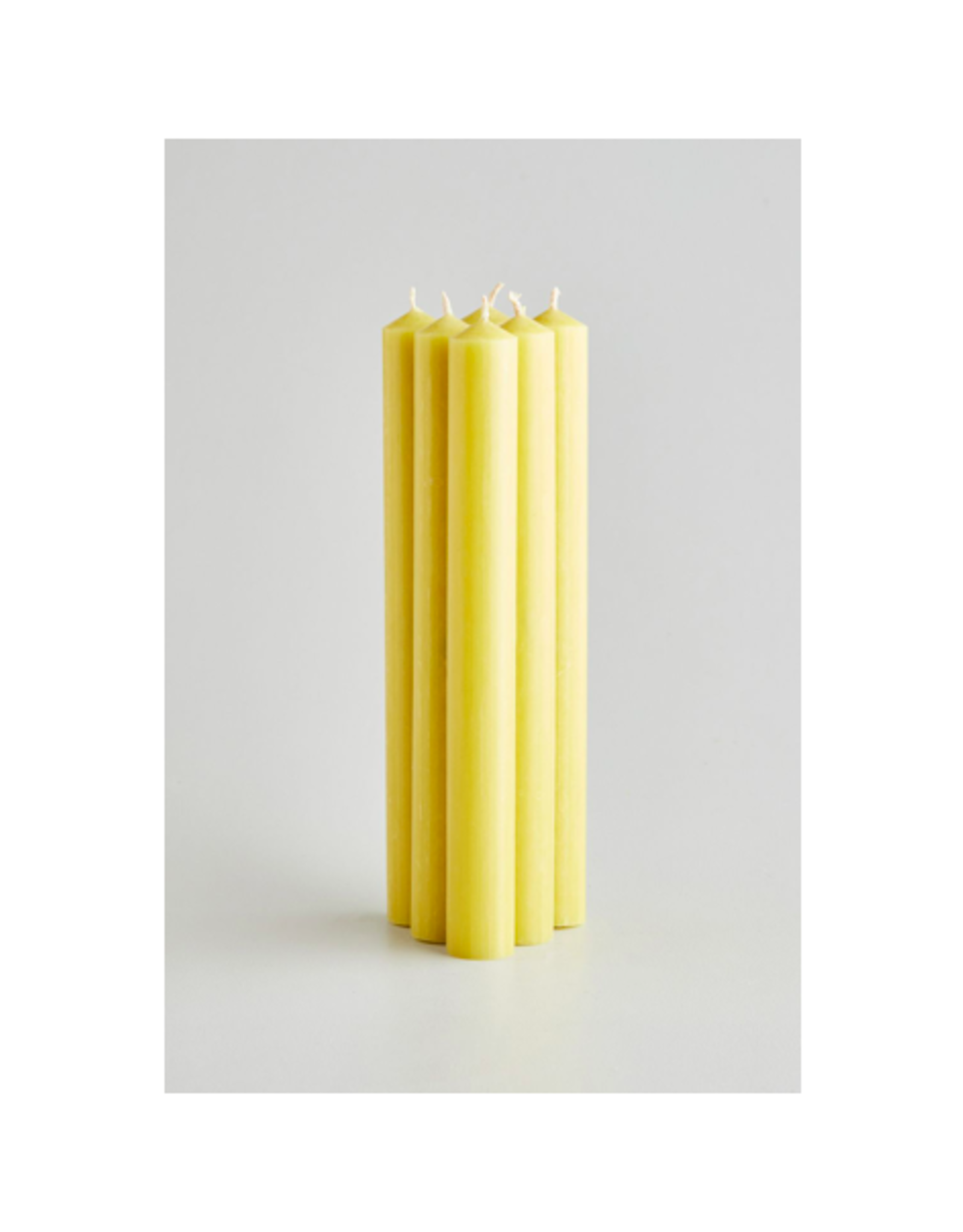 """DLE - St. Eval Taper Candle/Sunshine, 10"""""""