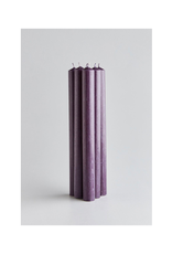 """DLE - St. Eval Taper Candle/Charcoal 10"""""""