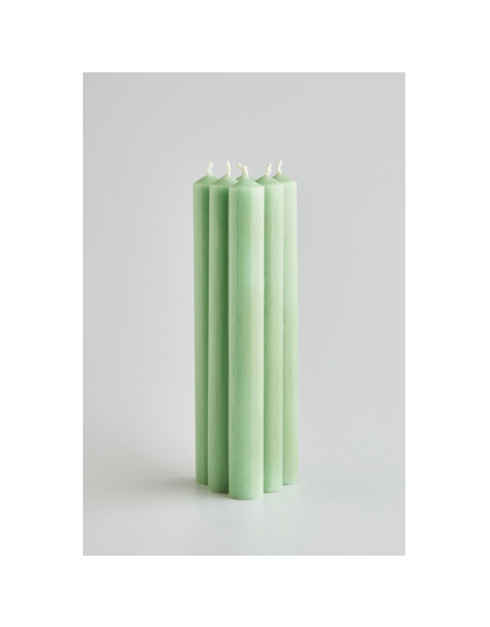DLE - St Eval Taper Candle/Seafoam 10""