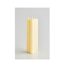 DLE - St. Eval Taper Candle/Cream 10""