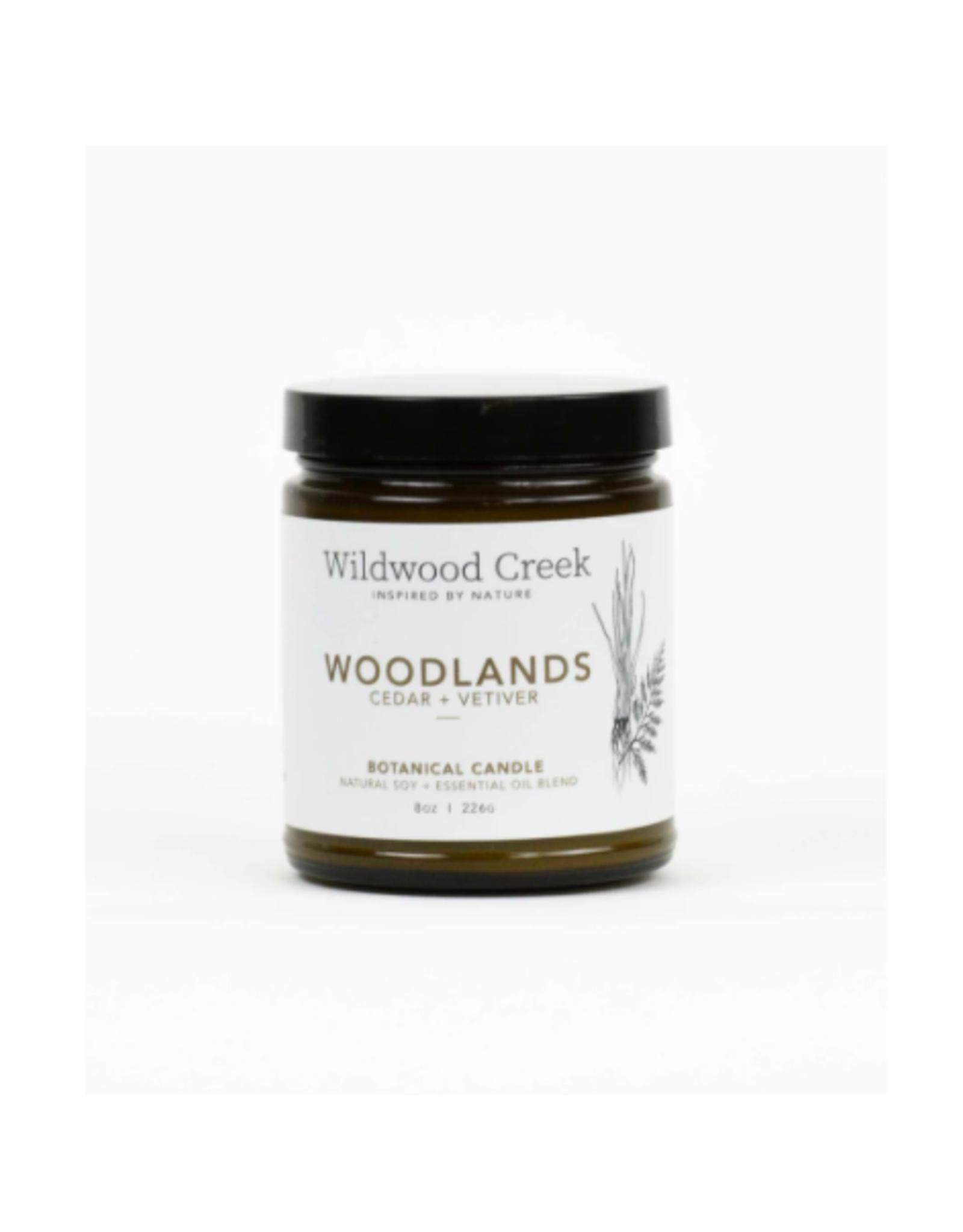 Wildwood Creek - Soy Candle/Woodlands, 8oz
