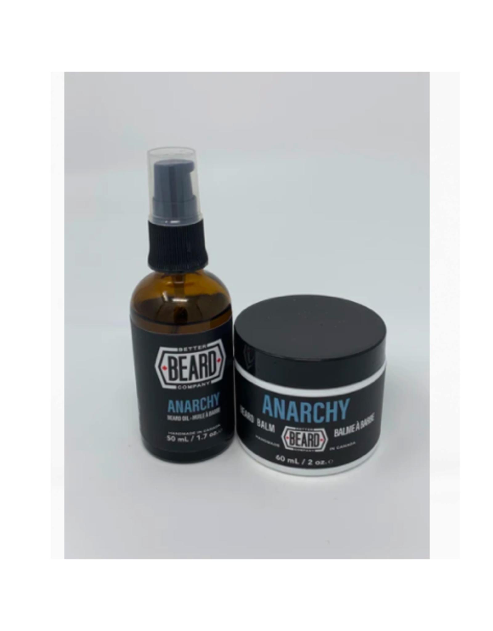 Better Beard Co. - Beard Oil/Anarchy 1.7oz