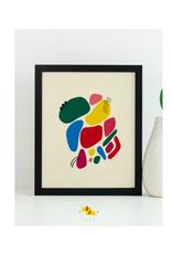 "Elana Camille - Print/Confetti #1, 8 x 10"""