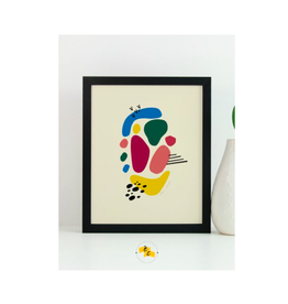 "Elana Camille - Print/Confetti #2, 8 x 10"""