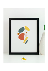 "Elana Camille - Print/Skipping Stones, 8 x 10"""