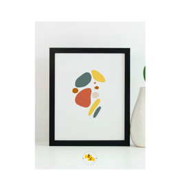 "Elana Camille - Print/Skipping Stones 8 x 10"""