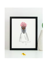 "Elana Camille - Print/Floral Cherry Blossom 8 x 10"""