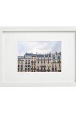 "Aleyah Solomon - Photo Print/Paris Facades 8 x 10"""