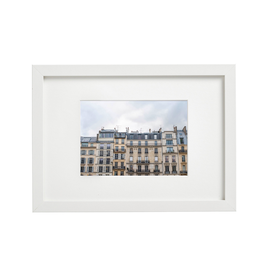 "Aleyah Solomon - Photo Print/Paris Facades, 8 x 10"""