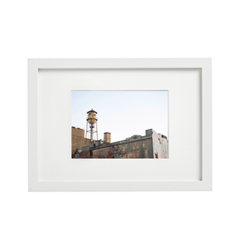 Aleyah Solomon - Photo Print/Lower Manhattan, Water Tower, 11 x 14""