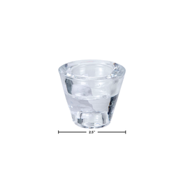 CTG - Tea Light & Taper Holder/Glass