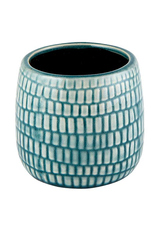 CVE - Plant Pot/Teal Dash, 3.5""