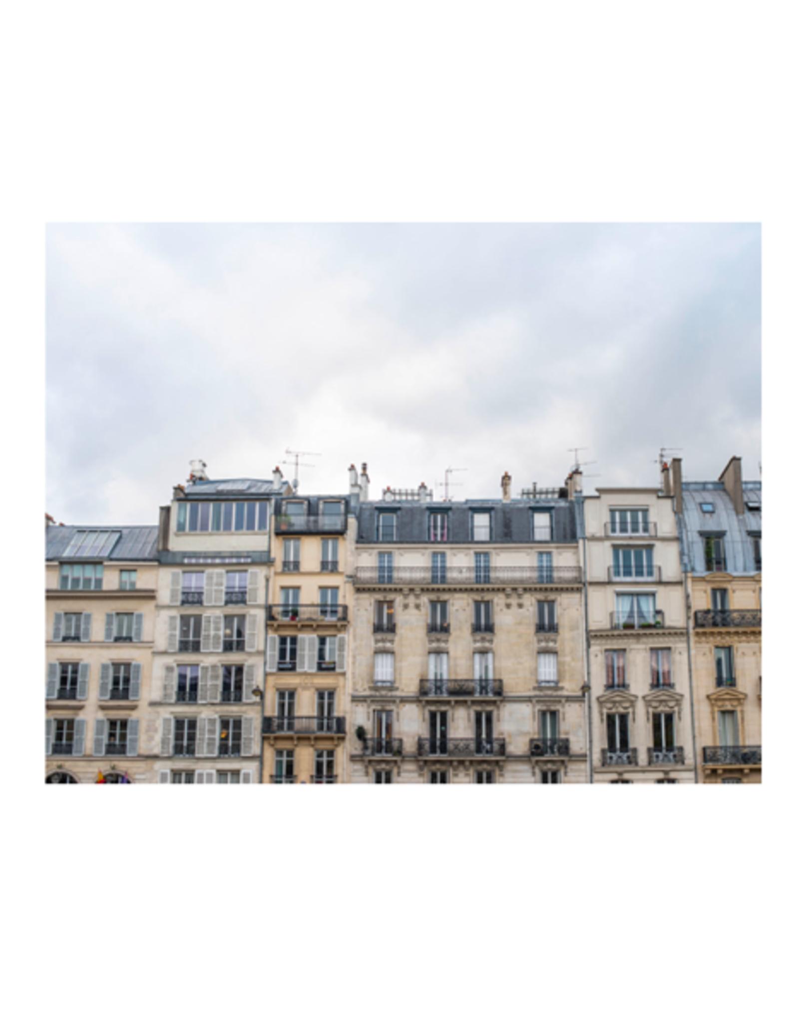 "Aleyah Solomon - Photo Print/Paris Facade 11 x 14"""