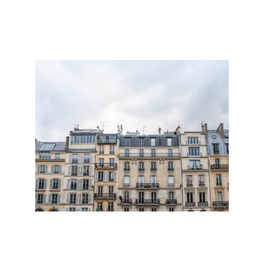 Aleyah Solomon - Photo Print/Paris Facade 11 x 14""