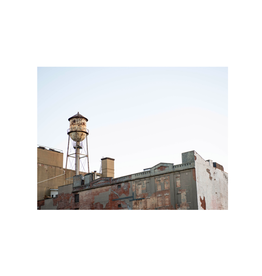 Aleyah Solomon - Photo Print/Lower Manhattan, Water Tower 8 x 10""