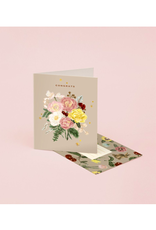 "CAP - Card / Congrats, Bouquet, 4.25 x 5.5"""