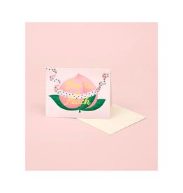 CAP - Card/Peach, Birthday