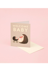 CAP - Card/Hedgehog, Baby, 4.25 x 5.5""