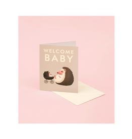 "CAP - Card/Hedgehog, Baby, 4.25 x 5.5"""