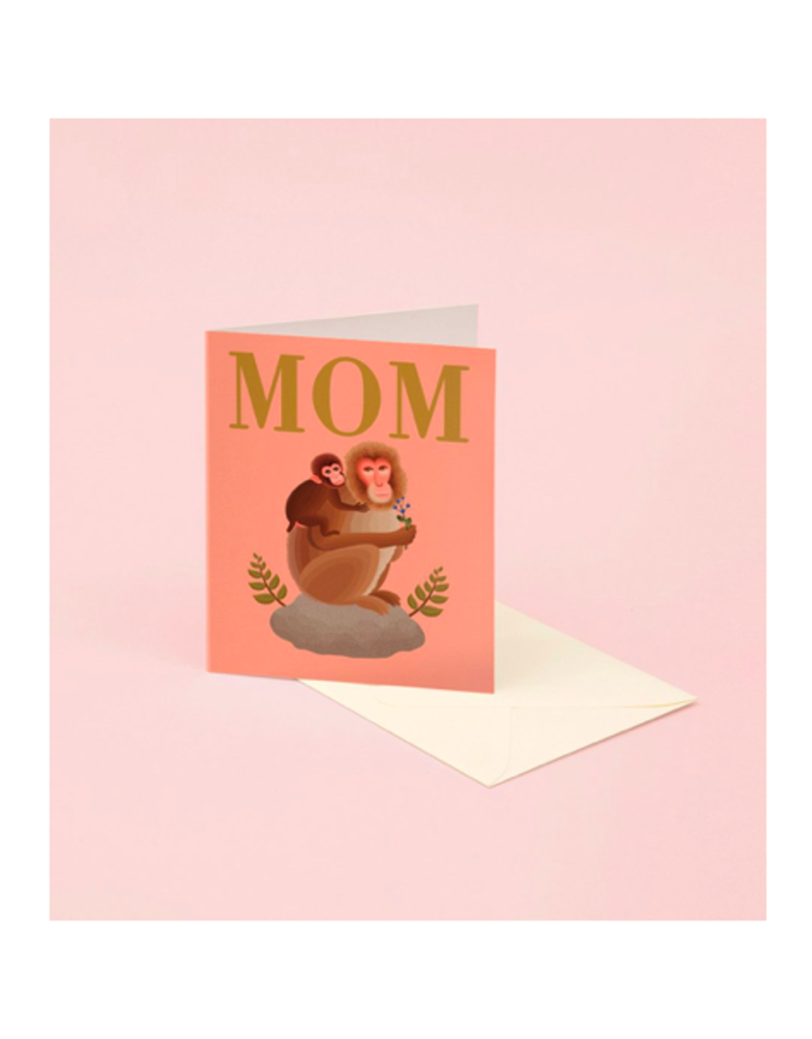 CAP - Card/Monkeys, Mother's Day, 4.25 x 5.5""