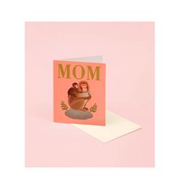"CAP - Card/Monkeys, Mother's Day, 4.25 x 5.5"""