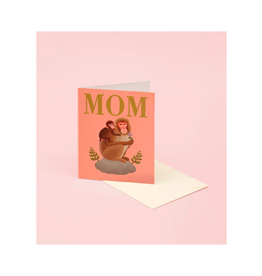 CAP - Card/Monkeys, Mother's Day