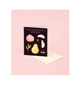 "CAP - Card/Organic Fruit, Friendship, 4.25 x 5.5"""