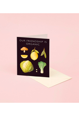 CAP - Card/Organic Vegetable, Friendship, 4.25 x 5.5""