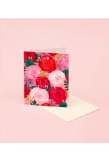 CAP - Card/Peonies, Valentine's