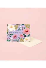 "CAP - Card/Hibiscus, Together, 4.25 x 5.5"""