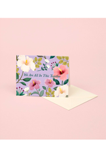 """CAP - Card / We are All in this Together, Hibiscus, 4.25 x 5.5"""""""