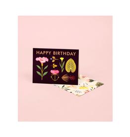"CAP - Card / Happy Birthday, Lush Growth, 4.25 x 5.5"""