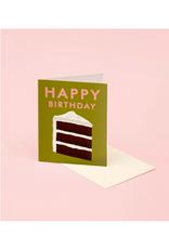 "CAP - Card/Slice of Cake, Birthday, 4.25 x 5.5"""